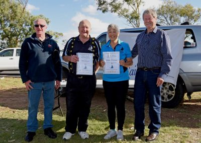 2019 SSA Regatta - Johno & Deirdre - Life Members